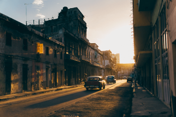 The backstreets of Havana