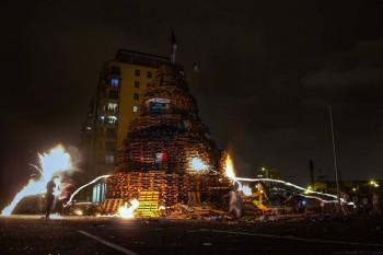 Belfast Bonfires, Ireland
